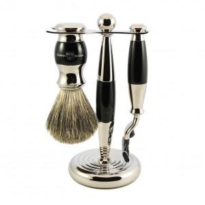 Set barbierit 3 piese S81M356CR Ebony Fit, Edwin Jagger