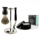 Set de barbierit 3 piese S81M71611 Mach3 + Sapun in cutie Edwin Jagger