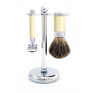 Set de barbierit 3 piese S81M8711 Classic Ivory, Edwin Jagger