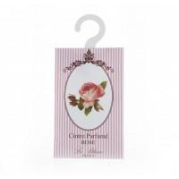 Plic parfumat cu agatatoare pentru dulap Rose, Le Blanc