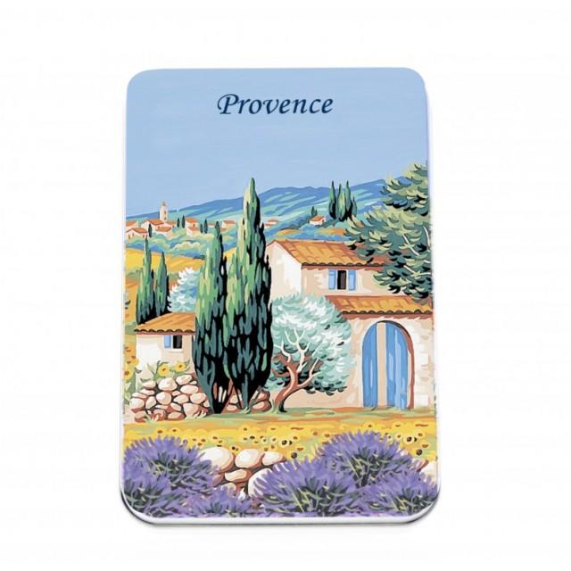 Set de 6 sapunuri pentru oaspeti Provence - Lavande, Le Blanc