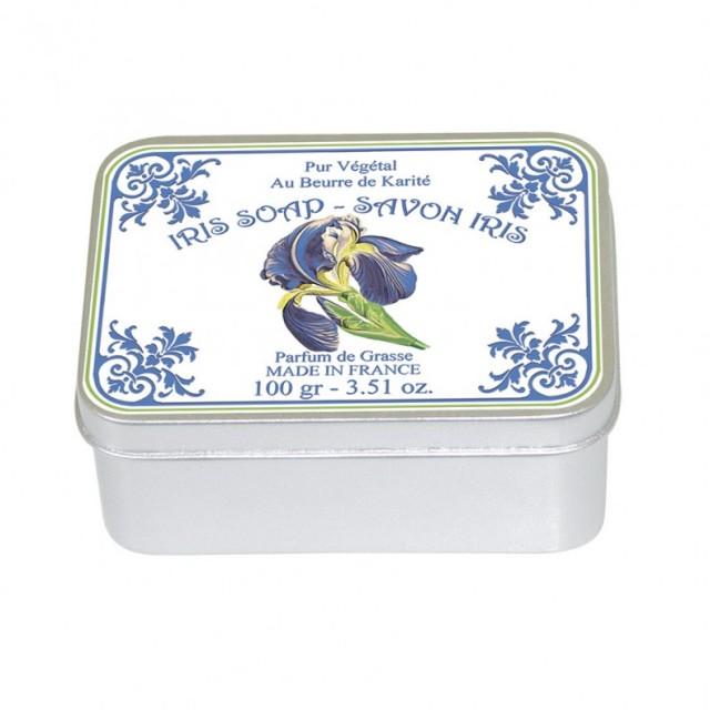 Sapun in cutie Iris Poudre de Riz 100g, Le Blanc