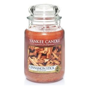 Lumanare Parfumata Borcan Mare Cinnamon Stick, Yankee Candle
