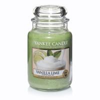 Lumanare Parfumata Borcan Mare Vanilla Lime, Yankee Candle