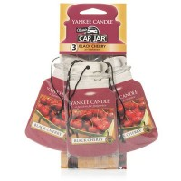 Odorizant Auto Car Jar 2+1 Gratuit Black Cherry, Yankee Candle