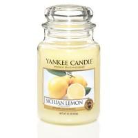 Lumanare Parfumata Borcan Mare Sicilian Lemon, Yankee Candle