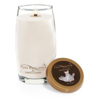 Lumanare Parfumata Pure Radiance Large Ice Crystal + Suport Lumanare CADOU, Yankee Candle