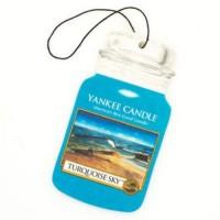 Odorizant Auto Car Jar Turquoise Sky, Yankee Candle