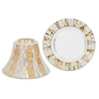 Accesoriu Borcan Mare/Mediu Gold Wave Mosaic, Yankee Candle