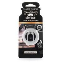 Odorizant Auto Smart Scent Vent Clip Black Coconut, Yankee Candle