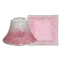 Accesoriu Borcan Mare/Mediu Pink Fade Crackle, Yankee Candle
