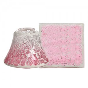 Accesoriu Borcan Mic Pink Fade Crackle, Yankee Candle