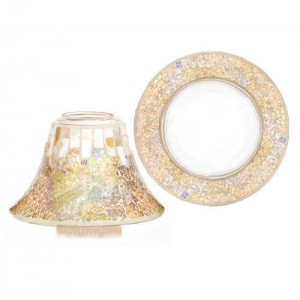 "Accesoriu Borcan Mare/Mediu ""Gold and Pearl"", Yankee Candle"