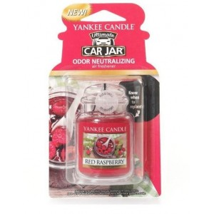 Odorizant Auto Car Jar Ultimate Red Raspberry, Yankee Candle