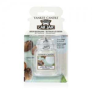 Odorizant Auto Car Jar Ultimate Shea Butter, Yankee Candle