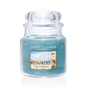 Lumanare Parfumata Borcan Mediu Viva Havana, Yankee Candle