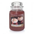 Lumanare Parfumata Borcan Mare Vanilla Bourbon- EDITIE LIMITATA, Yankee Candle