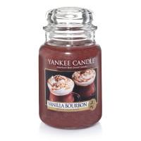 Lumanare Parfumata Borcan Mare Vanilla Bourbon, Yankee Candle