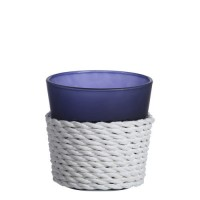 Suport lumanare Votive, Beach House - Blue, Yankee Candle