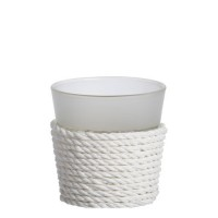 Suport lumanare Votive, Beach House - White, Yankee Candle
