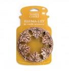 """Capac decorativ """"Bronze Leaf"""" pentru lumanarile Large/ Medium Jar"""