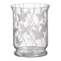 Accesoriu Borcan Mare/Mediu Hurricane Vase - Etched Butterflies, Yankee Candle