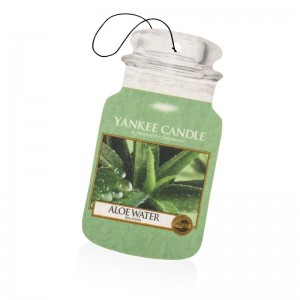 Odorizant Auto Car Jar Aloe Water, Yankee Candle