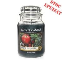 Lumanare Parfumata Borcan Mare Apple & Pine Needle, Yankee Candle