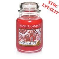 Lumanare Parfumata Borcan Mare Candy Cane Lane, Yankee Candle