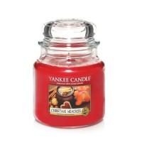 Lumanare Parfumata Borcan Mediu Christmas Memories, Yankee Candle