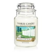 Lumanare Parfumata Borcan Mare Clean Cotton, Yankee Candle