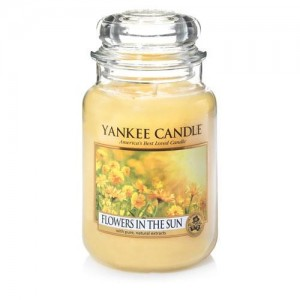 Lumanare Parfumata Borcan Mare Flowers In The Sun, Yankee Candle