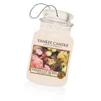 Odorizant Auto Car Jar Fresh Cut Roses, Yankee Candle