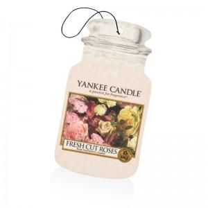 Odorizant Auto Car Jar Fresh Cut Roses, Yankee Candle