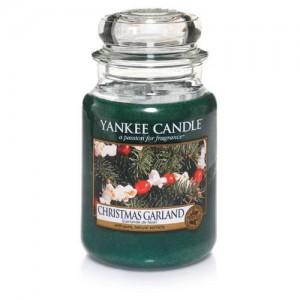 Lumanare Parfumata Borcan Mare Christmas Garland, Yankee Candle