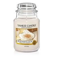Lumanare Parfumata Borcan Mare Spiced White Cocoa, Yankee Candle
