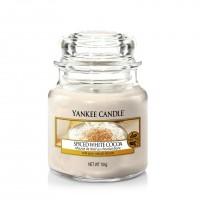 Lumanare Parfumata Borcan Mic Spiced White Cocoa, Yankee Candle