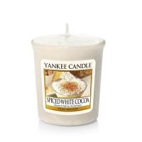 Lumanare Parfumata Votive Spiced White Cocoa, Yankee Candle