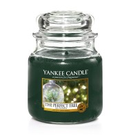 Lumanare Parfumata Borcan Mediu The Perfect Tree, Yankee Candle