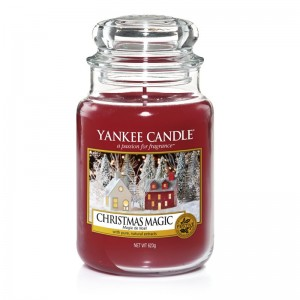 Lumanare Parfumata Borcan Mare Christmas Magic, Yankee Candle