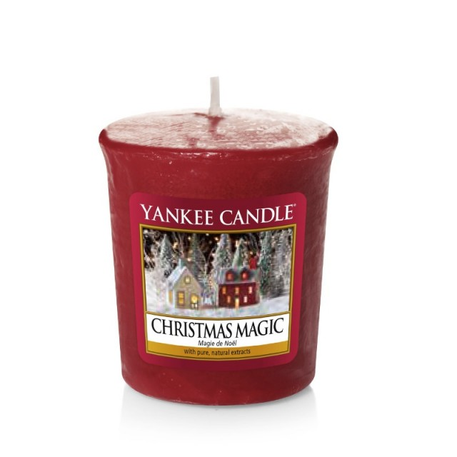 Lumanare Parfumata Votive Christmas Magic, Yankee Candle