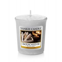 Lumanare Parfumata Votive Crackling Wood Fire, Yankee Candle