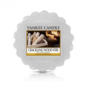 Tarta Pafumata Crackling Wood Fire, Yankee Candle