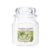 Lumanare Parfumata Borcan Mediu Linden Tree, Yankee Candle
