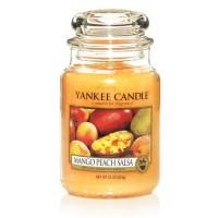 Lumanare Parfumata Borcan Mare Mango Peach Salsa, Yankee Candle