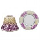 Accesoriu Borcan Mic Purple & Gold Crackle, Yankee Candle
