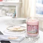 Lumanare Parfumata Borcan Mare Snowflake Cookie, Yankee Candle
