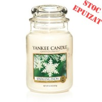 Lumanare Parfumata Borcan Mare Sparkling Snow, Yankee Candle