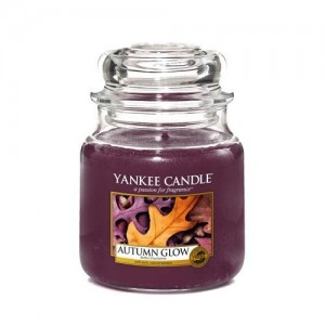 Lumanare Parfumata Borcan Mediu Autumn Glow, Yankee Candle