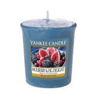 Lumanare Parfumata Votive Mulberry & Fig Delight, Yankee Candle